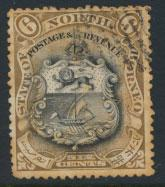 North Borneo SG 101 Used spacefiller  SC#84   perf 13½ x 14  see details & s...