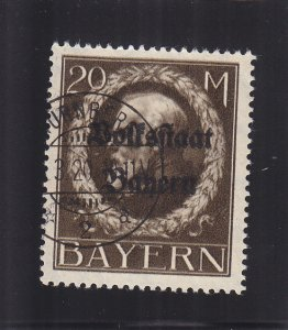 Bavaria: Sc #155, Used (S18164)