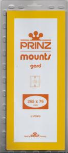 PRINZ BLACK MOUNTS 265X76 (5) RETAIL PRICE $11.50