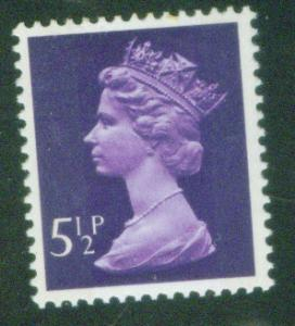 Great Britain Scott MH56 5.5p MNH** Machin stamp