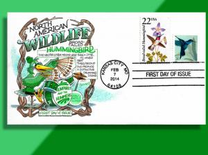 Hummingbird Combo on Handcolored FDC - World's Fastest Drummer Shows His Stuff!