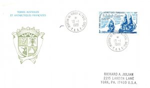 French Southern and Antarctic Terr., Polar, Worldwide First Day Cover