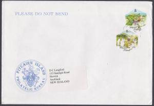 PITCAIRN 2002 commercial cover to New Zealand................................261