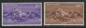 India Sc 244-245 (SG 344-345), MHR