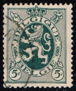 Belgium #201 Heraldic Lion; Used (0.25)