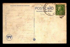 1937 Conneault Lake Park PA DPO Card - L30502