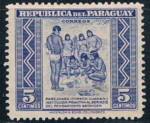 Paraguay Natives 5 - pickastamp (PP8R703)