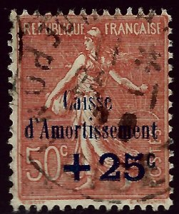 France SC B29 Used F-VF hr...Highly Collectible!!