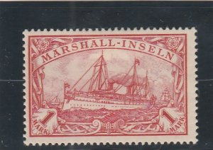 Marshall Islands  Scott#  22  MH  (1901 Kaiser's Yacht)