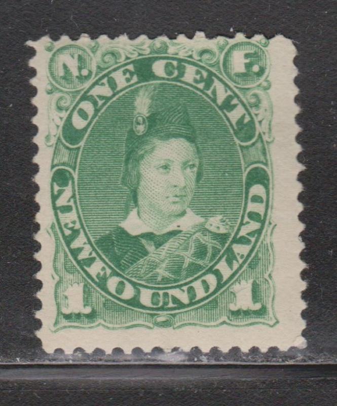 NEWFOUNDLAND Scott # 44 - Mint Never Hinged Early Prince Of Wales Issue