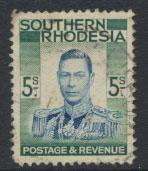Southern Rhodesia SG 52 SC# 54  Used see scan and details