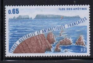 FRENCH SOUTHERN & ANTARCTIC TERR Sc C72 1983 Apostle Is, airmail stamp mint NH
