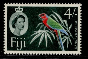 FIJI QEII SG308, 4s red, green, blue & slate-green, M MINT.