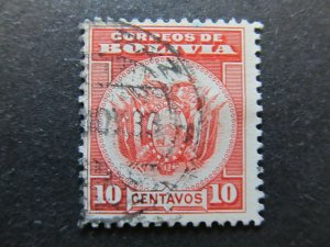 A4P31F68 Bolivia 1933 10c used
