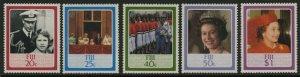 Fiji 544-8 MNH Queen Elizabeth 60th Birthday