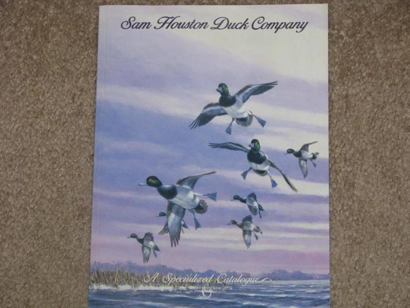 Sam Houston Duck Company-Specialized Catalog, 1994-95