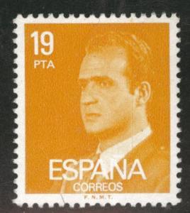 SPAIN Scott 2189 MNH** 1980-84 King Juan Carlos I