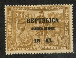 Lourenco Marques, Scott #115, Unused, Hinged