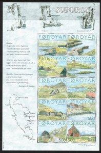 (CMA) Faroe Islands Scott #441 MNH Sheet of 10