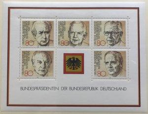 Germany 1384 MNH Souvenir Sheet