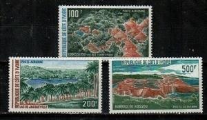 Ivory Coast Scott C51-3 Mint NH (Catalog Value $18.00)