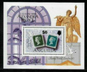 Anguilla #820 MNH S/Sheet - Stamp World London '90