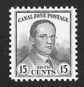 CANAL ZONE 111 15 cents JUMBO Jackson Smith Stamp Mint OG NH EGRADED XF 90 XXF