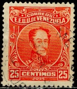 Venezuela 1928; Sc. # 277; O/Used Single Stamp