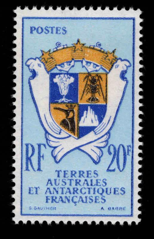 France Souther and Antarctic Territory FSAT Scott 151959 MNH** Coat of Arms