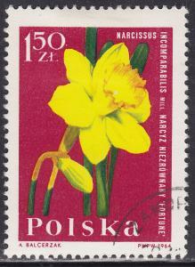 Poland 1286 Narcissus 1964