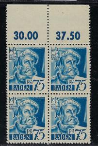 Germany - under French occupation Scott # 5N11 mint nh, b/4