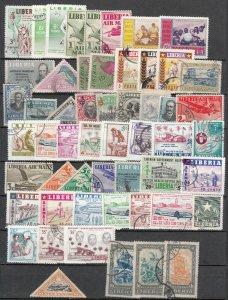 Liberia - small stamp lot-2 (7464)