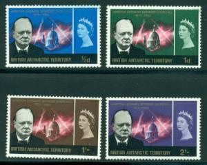 British Antarctic Territory #16-19  Mint VF  NH CV $49.35