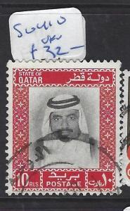 QATAR  (PP2609B) SHEIKH  10R  SG 410   VFU