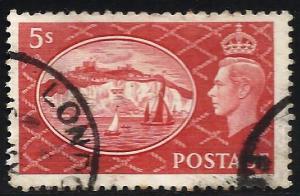 Great Britain 1951 Scott# 287 Used