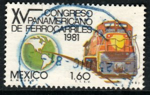 MEXICO 1257, Pan-American Railroad Congress. Used. VF. (897)