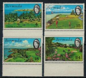 Bermuda #284-7* NH  CV $8.20