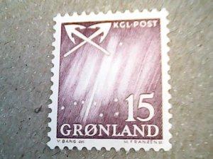 1963  Greenland  #52    MNH