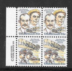 #C91-92 MNH Copy Block of 4