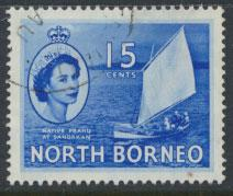 North Borneo  SG 379  SC# 2678 Used  see scan