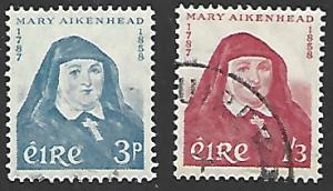 Ireland #167-168 Used Set of 2 cv $15.25