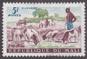 Mali 21 Shepard and Sheep 1961
