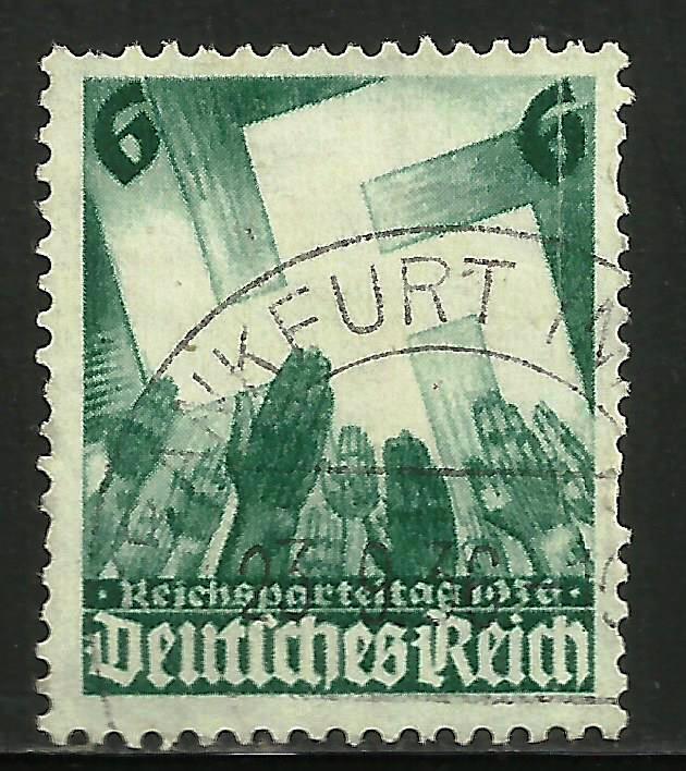 Germany 1936 Scott# 479 Used