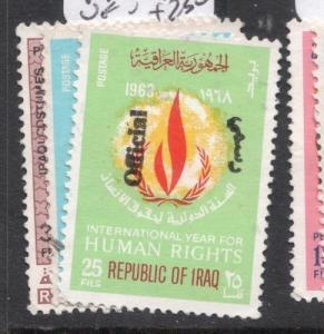 Iraq SG O969, O976-7 VFU (10dhq)