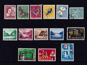 Switzerland a small used lot from 1956