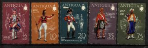 Antigua 262-6 MNH Military Uniforms