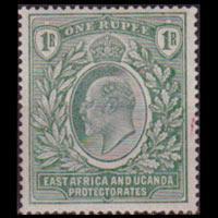 EAST AFRICA 1903 - Scott# 9 King 1r LH