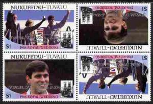 Tuvalu - Nukufetau 1986 Royal Wedding (Andrew & Fergi...