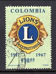 Colombia 770 Lions Used VF