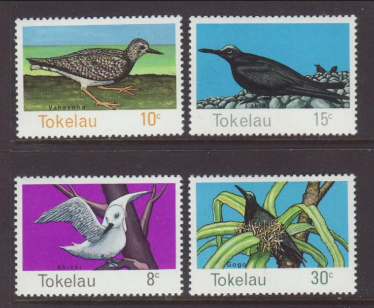 Tokelau 57-60 Birds MNH VF